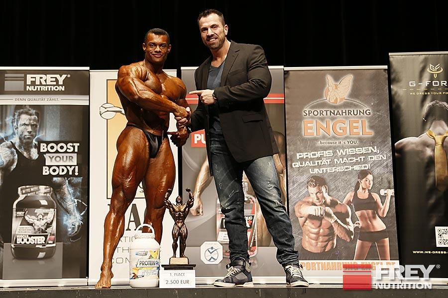 FREY Classic 2014 - Bodybuilding Winner Alex La Llave