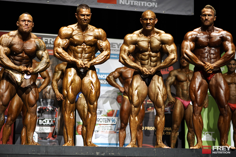 FREY Classic 2015 - Bodybuilding Winner Levente Nagy