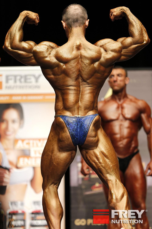 Ádám Dudás - back double biceps