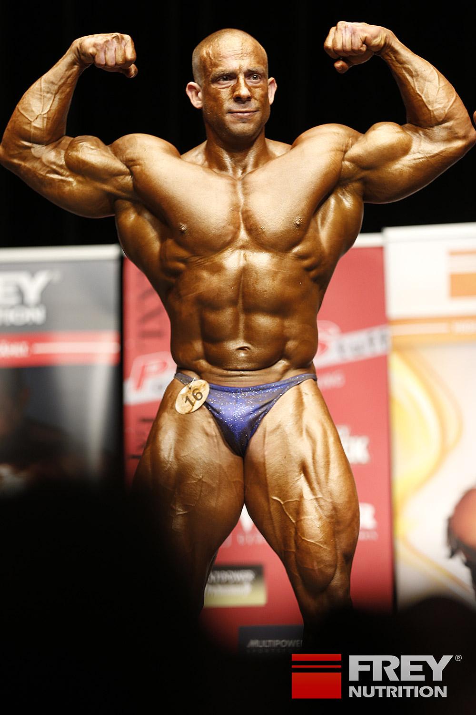 Attila Szalma - front double biceps