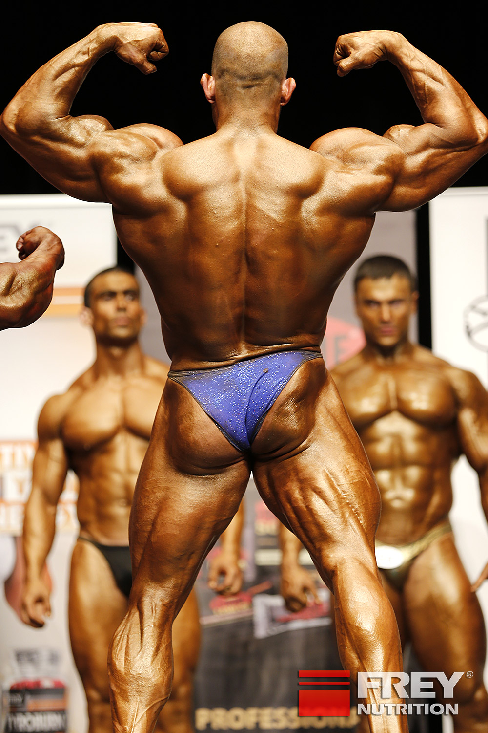 Attila Szalma - back double biceps