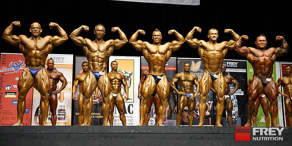 comparisons - front double biceps