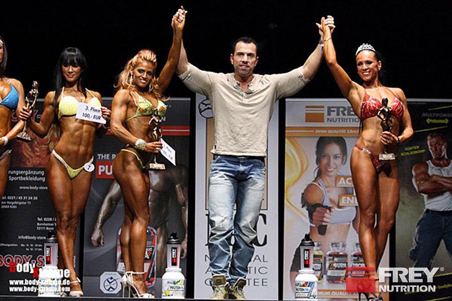 FREY Classic 2013 - Ms. Shape Winner Nikoletta Benedek