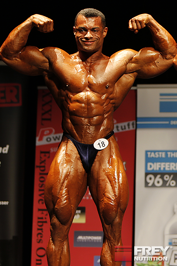 Alex La Llave - front double biceps