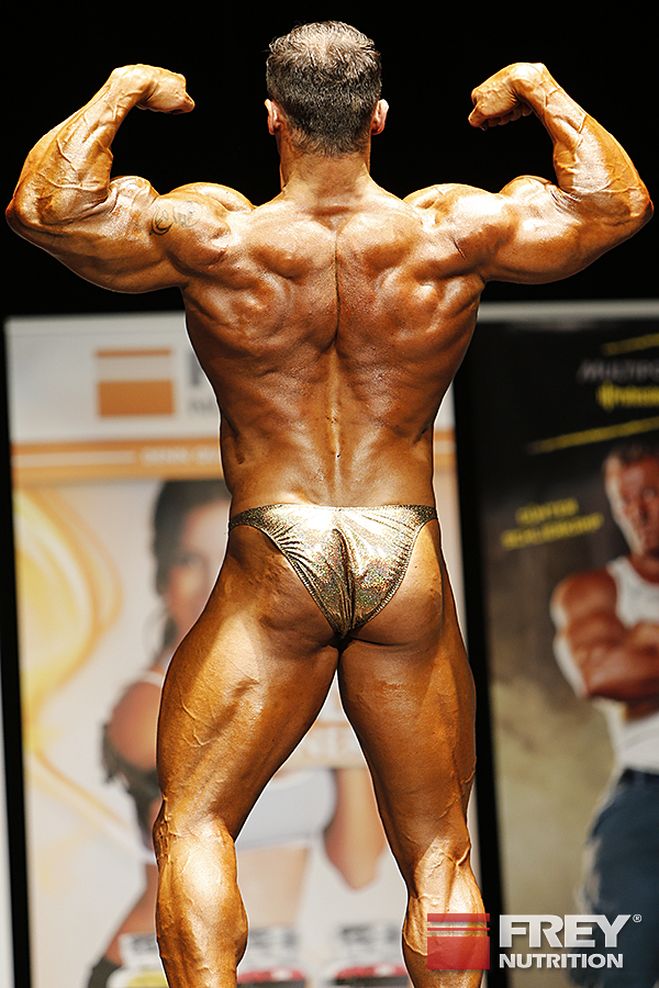 Alexej Kauz - back double biceps