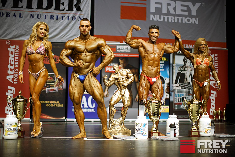 Overall Winners: Liga Leite (Bikini Shape/LAT)   Dani Kaganovich (Bodybuilding/ISR)   Boby Dilan (Athletic/GER)   Judit Palecian (Figure/HUN)